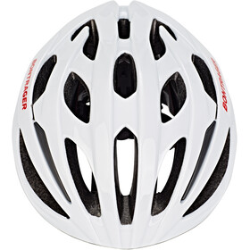 Bontrager Starvos Road Bike Helmet trek white/viper red